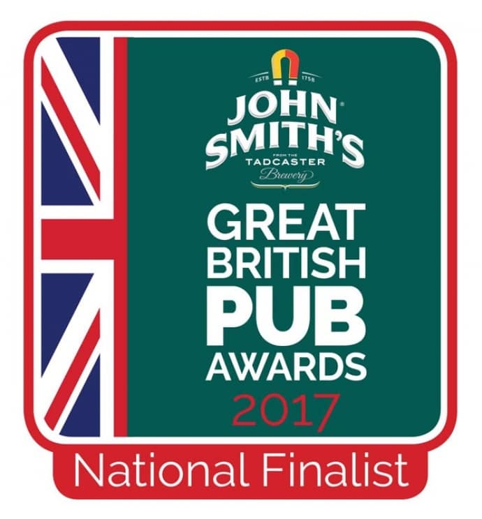 The Thirsty Bear named finalist in The Great British Pub Awards Best Sports Pub!