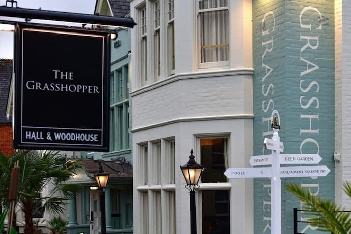 The Grasshopper – Hall & Woodhouse
